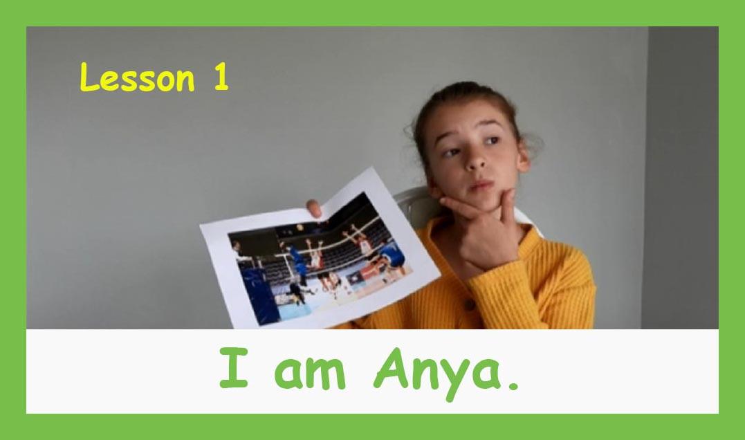 English for children lesson 1