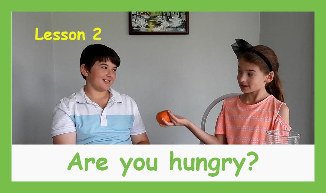 English for children lesson 2
