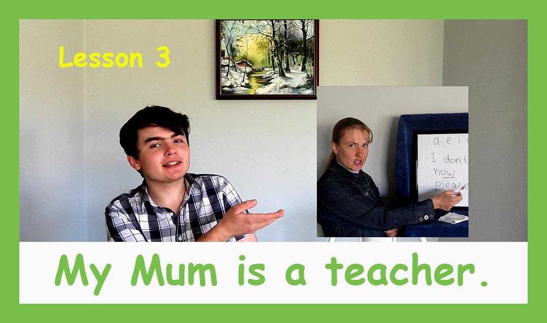 English for children lesson 3