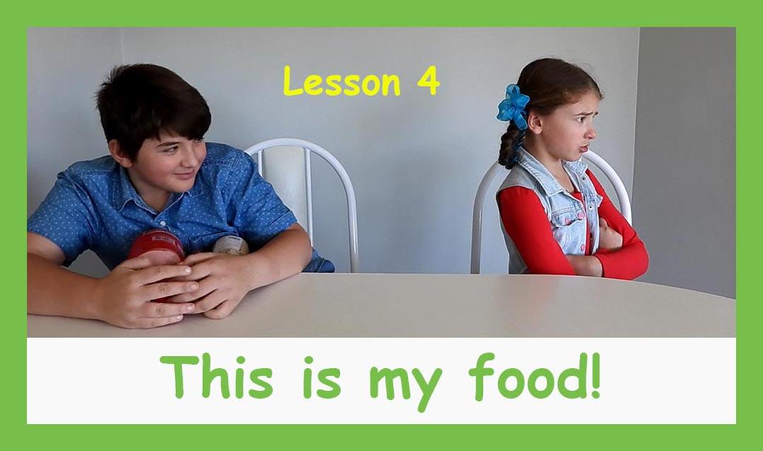 English for children lesson 4