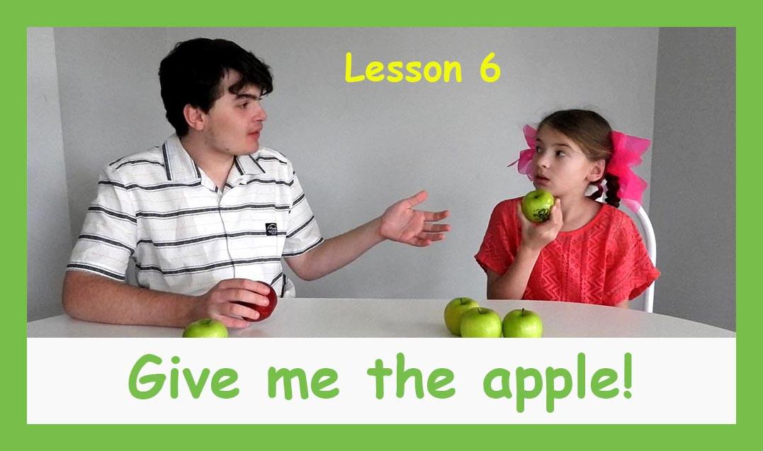 English for children lesson 6